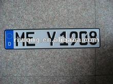 eu license plate