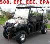 500CC UTV 4 SEAT 32.6 HP CVT TRANSMISSION