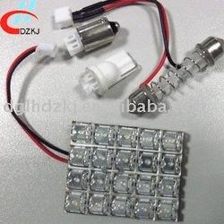 20 super flux led pcb dome car pcb led dome