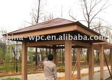 wpc outdoor decking for pergola