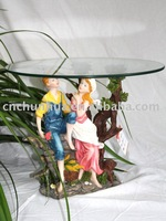Hot-selling Resin Angel Tea Table Home Decorations