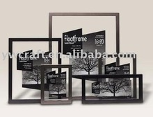 Float wood picture frames(new design)