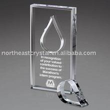 Factory Wholesale Glass Trophy Parts