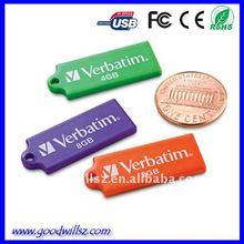 Portable customized verbatim mini usb flash disk