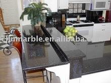 Natural Granite Black Galaxy Bar Tops