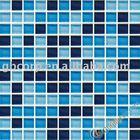 Crystal Glass Mosaic Wall & Floor Tile 25x25x8mm Spa & Pool & Bathroom Mosaic