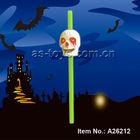 plastic halloween skull head with laugh