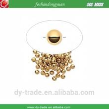 small brass steel ball
