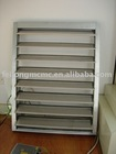 Aluminum shutter & louver window