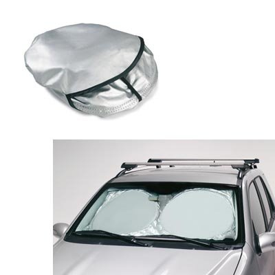 Sun shade windshield cover