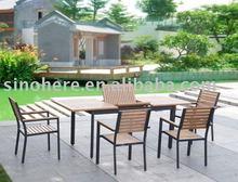 plastic wood furniture EK2032