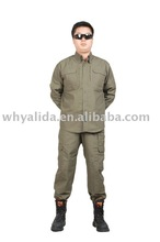 Tactical Ripstop Olive Green Military Shirts and Pants