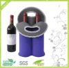 2 bottle neoprene wine tote bag