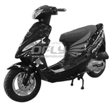 Gas Motor Scooter Equipped with 4 Stoke 80cc Engine MS0802