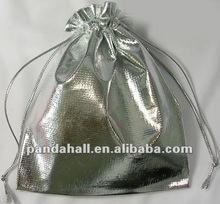 Organza Silver Gift Packaging Wedding Bags Wholesale Supplies(OP012)
