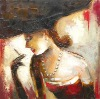 2015 china cheap sexy beautiful nude girl canvas iol paintings