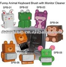 Funny plastic muti purpose Keyboard Brush