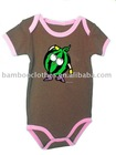 100%organic cotton baby rompers