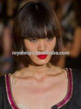 100%human hair fashion bob lace wigs