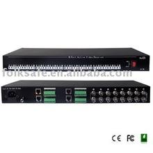16 Port UTP Active Video Receiver Hub balun video passivo