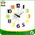 design moderno alunimium relógio de parede