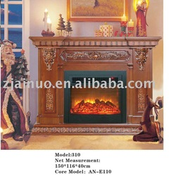 Luxurious electric fireplaces