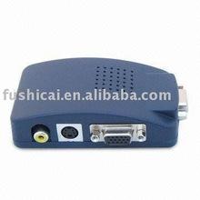 pc to tv converter/ VGA TO VIDEO/VGA/AV adapter