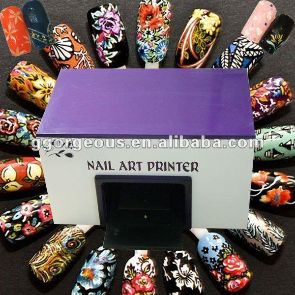 promotion digital photo nail printer machine