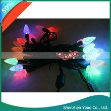 25 LED Multi-Color Mini Christmas Lights Bulbs