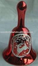 latest ceramic christmas bell decoration