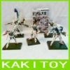 Gundam plastic action figures