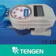 TG-15 15mm 20mm IC card intelligent digital water meter prepaid water meter price