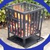 square cast iron fire baskets