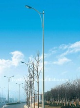 Single arm street lighting post / Pole