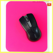 2014 new style cheap silicone mouse pad , silicone material keyboard with mouse pad