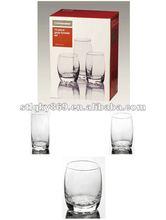 2012 hot items glass tumbler set