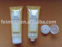 oval Plastic tube packaging