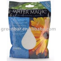 Water magic soil for garden