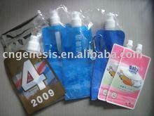BPA-free foldable plastic water bottle travel water bottle