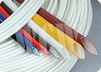 UL,CUL tested Silicone rubber fiberglass sleeving