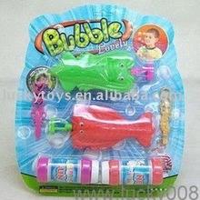Toy animal bubble gun