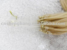 Micro-ring Hair extension promotion goods, high quality human hair