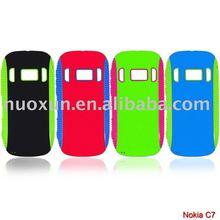 New design TPU+PC Case for Nokia C7