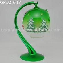 LED Glass christmas ball/glass home decoration