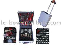 professional tools 186pcs in aluminum case hand tool set&tool kit