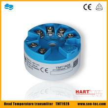 Smart sense pt100 4-20ma hart protocol head mounted temperature transmitter TMT192B