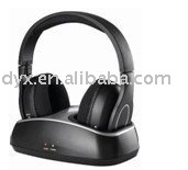 rechargeable professional high quality 2.4 ghz wireless headphone