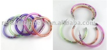 transparent bracelet pen with colored ball inside