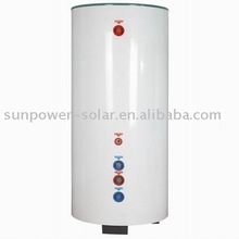 Solar boiler with coil