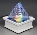 multicolor mn22075 lightstabletop led de fuente de agua